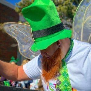 Dr David Brown Pediatric Dentist Wichita KS Delano St Patrick's Day Parade Tooth Fairy