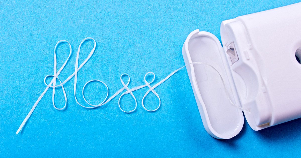 Dental Floss Pediatric Kids Dentist Wichita Ks